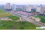 Ảnh: Tuyến đường 127 tỷ đồng rộng 10 làn xe nối vành đai 2 và 3 ở Hà Nội