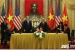 Tổng thống Donald Trump, Chủ tịch nước Trần Đại Quang chứng kiến ký kết nhiều văn kiện tỷ USD tại Hà Nội