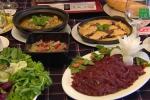 Cách làm thịt đà điểu nhúng dấm, đà điểu thiết bản đậm đà, bổ dưỡng