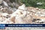 Sập mỏ đá ở Nghệ An: 3 người chết, 1 người nguy kịch