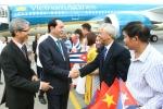 Chủ tịch nước Trần Đại Quang hội kiến Chủ tịch Quốc hội Cuba