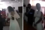 Người tình mặc váy cô dâu đến đám cưới, giật mic vạch trần thói trăng hoa của chú rể