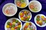 Cách làm bánh trôi ngũ sắc ngon cho Tết Hàn thực