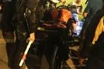 Tránh xe máy chạy ngược chiều, nam thanh niên đi xe Z1000 bị thương nặng