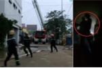Clip: Lính cứu hỏa căng mình dập lửa trong quán karaoke cháy lớn ở Hà Tĩnh