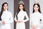 Dàn Hoa hậu Việt Nam qua các thời kỳ khoe vẻ đẹp dịu dàng với áo dài trắng