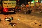 Video: Xe ben cuốn hàng chục xe máy vào gầm khiến 6 người nguy kịch
