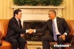 Chủ tịch nước mời Tổng thống Obama sớm thăm Việt Nam