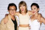 Taylor Swift mê mẩn trước nhan sắc của Tóc Tiên
