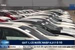 Bất ngờ với số lượng ô tô nhập khẩu về Việt Nam từ đầu năm