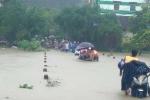 Hàng nghìn người dân Nam Trung Bộ sơ tán lên cao để tránh lũ