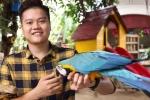 Video: Chàng trai sở hữu hơn 20 loài vẹt trị giá nửa tỷ đồng