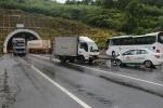 Tai nạn liên hoàn trước cửa hầm, 3 người bị thương