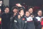 Video: Hồng Duy và các tuyển thủ U23 hát vang 'Niềm tin chiến thắng'