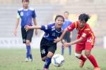 Giải bóng đá nữ VĐQG 2018: Sơn La, TP.HCM II chia điểm