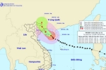Cập nhật siêu bão số 7 Sarika: Tiến sát Quảng Ninh - Hải Phòng, gió giật cấp 13