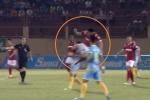Làm đối thủ gãy xương sườn, cầu thủ Than Quảng Ninh bị phạt nặng