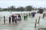 Không khí lạnh tăng cường, miền Trung mưa to, lũ lên nhanh