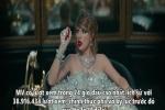Taylor Swift phá vỡ kỷ lục ba bản ghi trên YouTube và Spotify