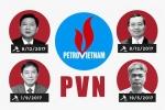 Những lãnh đạo PVN vướng vòng lao lý