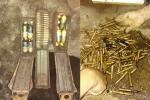 Đắk Lắk: Phát hiện nhiều hộp đạn trong lúc đào bể tự hoại