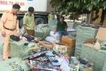 Bắt giữ container chở hàng tấn đồ chơi bạo lực, kích dục và mỹ phẩm lậu ở Thái Bình