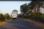 Xe khách lấn làn gây tai nạn, tài xế bỏ mặc nạn nhân gây bức xúc