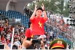 Trực tiếp: Sân Thống Nhất 'vỡ tung' chào đón người hùng U23 Việt Nam