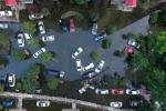 Xót xa siêu xe 'chết đuối' trong mưa ngập
