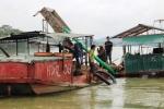 Nghệ An bắt giữ 3 tàu 'cát tặc' trên sông Lam
