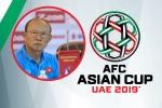 HLV Park Hang Seo dự lễ bốc thăm VCK Asian Cup 2019