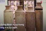 Thu giữ 20 kg sừng tê giác ngụy trang trong lọ lục bình