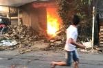 Cháy xưởng tăm ở Ứng Hòa, Hà Nội