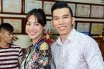 Siêu mẫu Ngọc Tình, Khả Trang ướt đầm lưng áo phát quà từ thiện