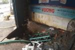 Vỡ đường ống dẫn nước, một nhà dân bị sụp lún nghiêm trọng