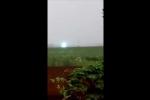 Quả cầu lửa kỳ lạ sáng lóa trên bầu trời Siberia