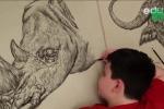 Thần đồng có trí nhớ siêu phàm, vẽ động vật hoàn hảo đến từng chi tiết