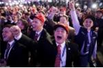 Ảnh: Cử tri Đảng Cộng hòa vỡ òa sung sướng