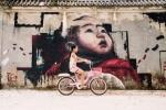 Ảnh: Tường dự án 100 tỷ đồng bỏ hoang thành đường bích hoạ đẹp như mơ