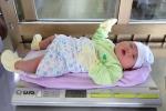 Bé trai ở Quảng Ninh chào đời nặng hơn 5 kg