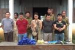 Bắt 5 người Lào buôn ma tuý xuyên quốc gia