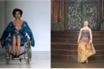 Người mẫu trình diễn catwalk bằng xe lăn, chân giả, truyền cảm hứng cho triệu người