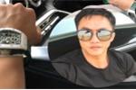 Cường Đô la khoe được tặng đồng hồ tiền tỷ