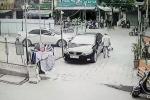 Cụ ông thừa nhận cào xước ô tô Kia Cerato, xin bồi thường thiệt hại