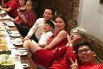 Lộ ảnh con trai Hà Hồ thân thiết với Kim Lý như một gia đình