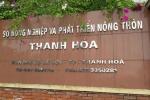 Kỷ luật cảnh cáo Phó chánh văn phòng Sở Nông nghiệp và Phát triển nông thôn Thanh Hóa