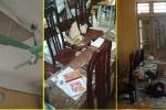 Sập vữa trần phòng học, ba học sinh lớp 12 nhập viện