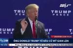Bị bà Clinton dẫn trước, ông Donald Trump tố bầu cử Mỹ gian lận