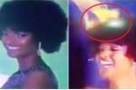 Clip: Hoa hậu châu Phi bị cháy tóc lúc đăng quang
