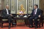 Ông Obama gặp ông Tập Cận Bình ở Bắc Kinh